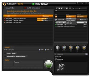 Convert audio files, movies, TV shows, video clips to Zune