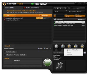 High speed conversion for audio & video files